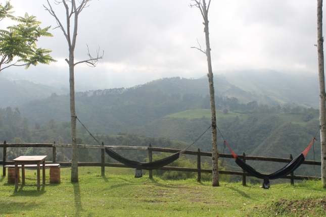 The view from La Serana Hostel