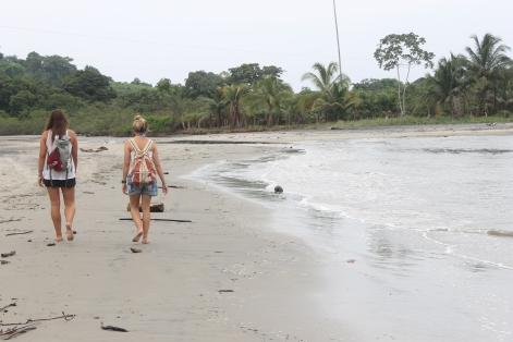 Beaches to ourselves for miles on our minds. Mompiche, Ecuador.
